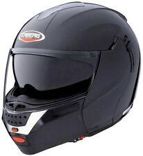 Caberg Justissimo GT metal black Flip Up Motorcycle Helmet Double Sun Visor xs