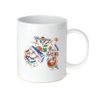 Coffee Cup Mug Travel 11 15 Oz Music Skeleton Band Rebel Attitude