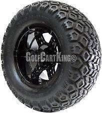 "12"" RHOX RX252 Wheel and 23x10.5-12 Mojave All Terrain Tire Golf Cart Combo"
