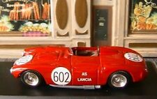 LANCIA D24 #602 MILLE MIGLIA 1954 TOP MODEL 1/43 MADE IN ITALY ITALIA ROSSO RED