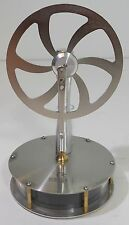 Stainless Steel Stirling Engine-- Run a Motor Off Hot Coffee!