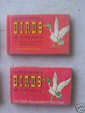 2 Red Book of Birds of America Illustrated 1933 / 1941
