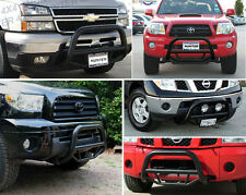2009 Chevy Silverado GMC Sierra Bull Grille 07-11 Push Bar Guard Black