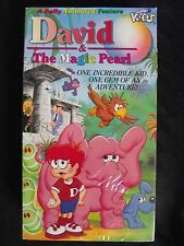 NEW SEALED David and the Magic Pearl VHS 1989 Kids Family Adventure