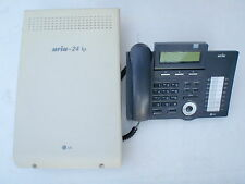 LG-Nortel ARIA 24ip w 6 x LCD h/sets & 12 months w/ty. Tax invoice