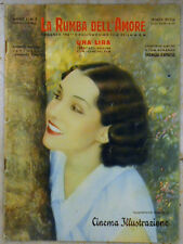 LA RUMBA DELL'AMORE - SUPPLEMENTO MENSILE DI CINEMA ILLUSTRAZIONE NOVEMBRE 1932