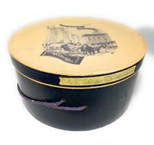 """Fifth Avenue """"From the Avenue"""" Fifth Avenue Design Group Round Hat Box 7x13.5"""