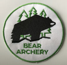 Nos Vintage Fred Bear Archery 3.5� Patch for Traditional & Recurve Bow Collector