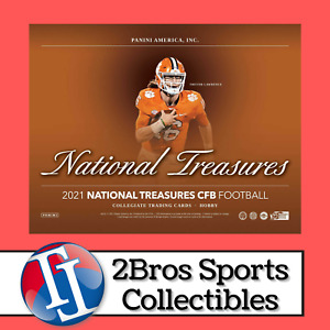 2021 National Treasures CFB 2 Hobby Box Break 10/20 6pm CST - Eagles