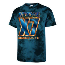 """Official WWE Authentic  """"WrestleMania X7"""" '47 Brand Vintage Tubular T-Shirt"""