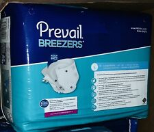 54 Prevail Breezers Adult Brief, LARGE, Ultimate Absorbency, PVB-013/2