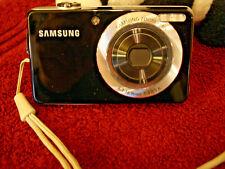 Samsung DualView TL205 12.2MP Digital Camera - Black