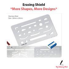 Liquidraw Erasing Shield Artists Precision Drawing Eraser Template.