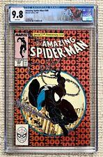 Amazing Spider-man # 300 CGC 9.8 Stan Lee,Todd Mcfarlane 1st Venom White Pgs