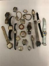 20 windup wrist watches Timex Genova Lucerne Bradley Walthem Woldman As Found