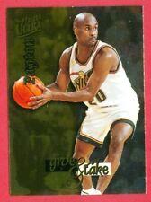 "1996-97 FLEER ULTRA (BKB) Gary Payton SP ""GIVE & TAKE"" FOIL CHASE CARD #7 HOF'er"
