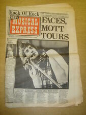 NME 1973 OCT 6 FACES ROD STEWART DAVID BOWIE BYRDS MOTT THE HOOPLE WHO QUATRO