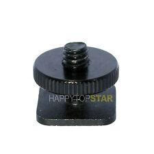 "Tripod 1/4"" screw to Flash Hot Shoe Hotshoe Mount Adapter 1/4"" UNC Bracket"