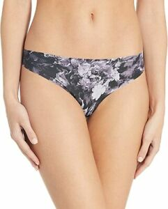 Calvin Klein Invisibles Thong Panty D3507  Dark Floral NEW