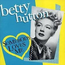 Betty Hutton : Somebody Loves Me CD (2004) ***NEW***