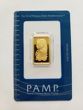 10 Gram Gold Bar - PAMP Suisse  999.9 Fine in Sealed Certified Numbered Package