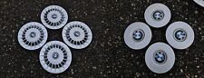"17"" BMW E34 M5 Turbine Hub Caps Style 20 Throwing Stars Turbines 36132226845"