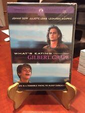 WHAT'S EATING GILBERT GRAPE (DVD,1993) Johnny Depp, Leo DiCaprio/Mfg. Sealed