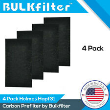 Premium Holmes Hapf31 Carbon Pre Filter 4-pack By BulkFilter