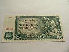 Tschechoslowakei 100 Korun 1961