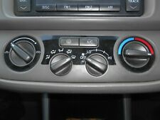 9/04 TOYOTA CAMRY ALTISE 36 SERIES HEATER CONTROLS (S/N V7488)