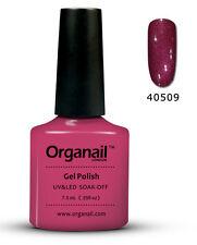 Vernis à ongle semi permanent 09 Rouge baron organail Gel UV LED Manucure soak