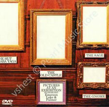 EMERSON LAKE & PALMER PICTURES AT AN EXHIBITION ( AUDIO CD + DVD PAL )new sealed