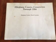 Alleghany County Cemeteries & Graveyards, SPARTA, North Carolina, NC Mountains