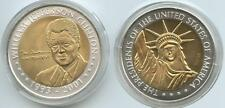 GY561 - Bimetallmedaille USA William Jefferson Clinton 42nd President 1993-2001