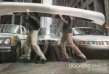 Publicité Advertising 2000 (double page)  DOCKERS KHAKIS  D4 REGULAR