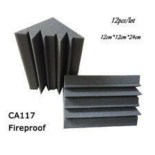 New item acoustic bass trap 12cm x 12cm x 24cm Soundproof foam panel 12 pcs