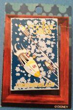 Disney DLR - Framed Attraction Poster Rocket Jets Pin brand new original card