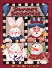 Sweet Seasons Decorative Painting Book by Christine Schilling