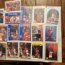 Michael Jordan 90 91 92 93 fleer basketball hoops 21 Card Lot SOME GEM MINT?