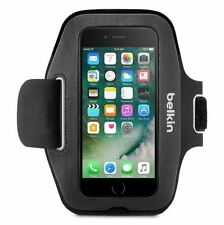 NEW BELKIN SPORT-FIT ARMBAND FOR IPHONE 7 APPLE BLACK SLIM NEOPRENE HANDWASHABLE