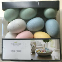 Threshold Vase Filler Pastel Speckled Eggs 20 Pieces NEW Easter Spring Decor