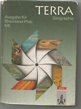 Terra Geographie - Rheinland-Pfalz 5/6 - Erdkunde - äußerl. Zustand s. scan