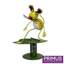 "Primus boule ""Souris Métal Jardin Baladeuse Sculpture Ornement PQ1329 idée cadeau"