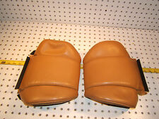 Mercedes W126 560SEC FRONT seats headrest L & R PALOMINO 1 set of 2 Covers,Typ#2