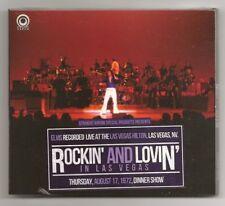 "ELVIS PRESLEY CD ""ROCKIN' AND LOVIN' IN LAS VEGAS"" 2017 STRAIGHT ARROW 17 8 1972"