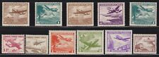 11 Different F-VF OG NH Mint Chile Airmail issued 1950 to 1960 - I Combine S/H