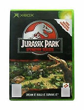 Jurassic Park Operation Genesis Xbox Microsoft Strategy Game UK Rele New Sealed