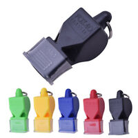 Plastic Soccer Basketball Sports Classic Referee Whistle Survival Outdoor