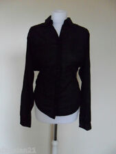 DKNY women's top/shirt, size S (8-10), black, long sleeve, brand new