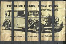 Nice Complete Set of 25 Vintage Matchbox Labels Rolls Royce Puzzle